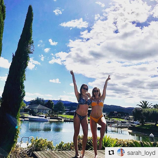 #Repost - These girls sure know how to have fun in the sun at Pauanui! 👌☀️🌼😜 #pauanuiwaterways #nzsummer #property #waterfrontliving #lovepauanui #pauanui