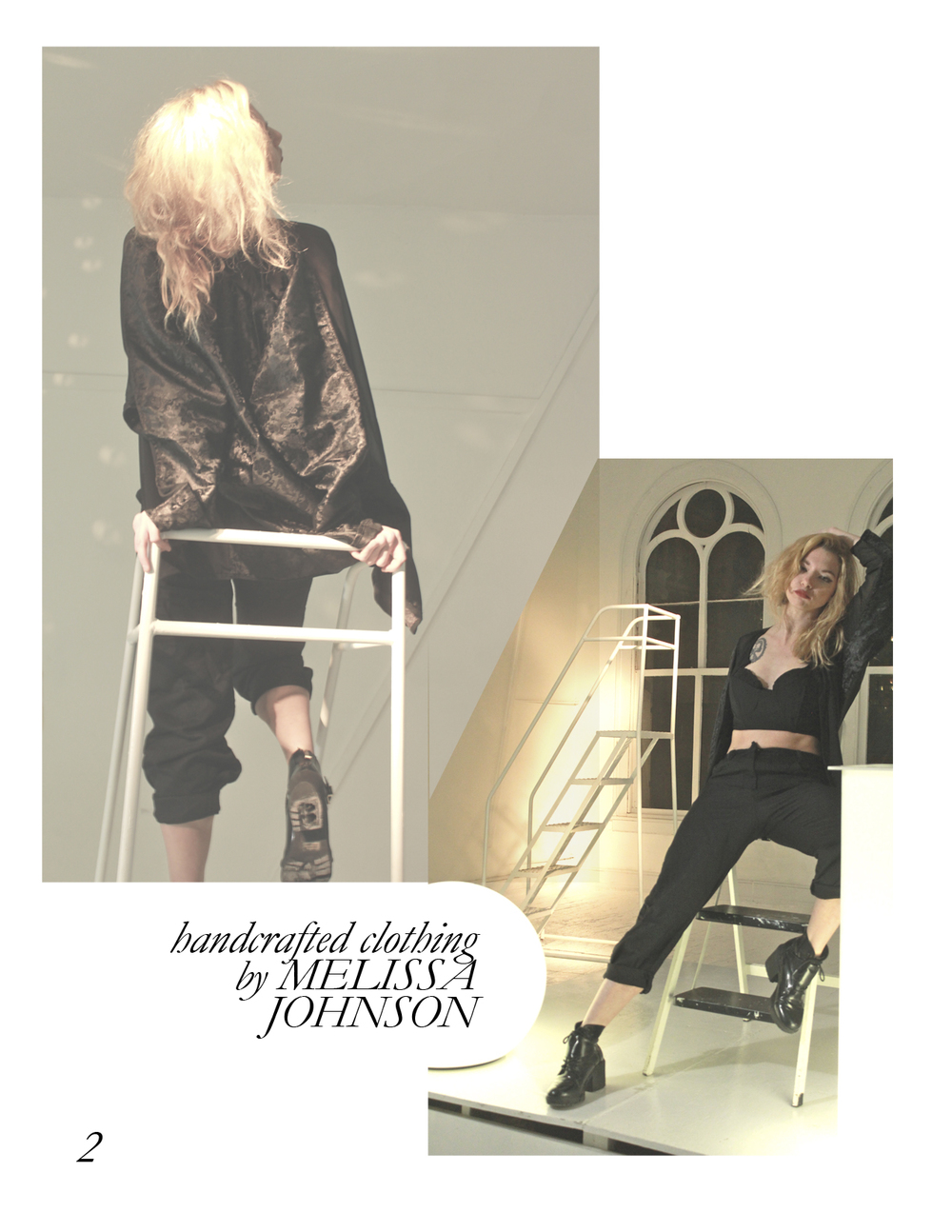 DARK PLANET: A look book of designs by Melissa Johnson