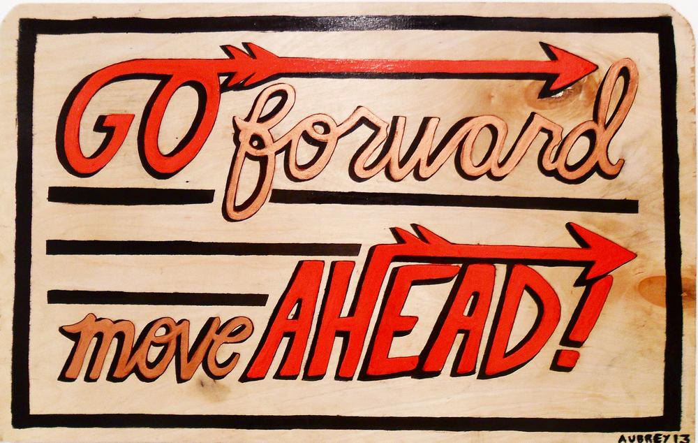 Sign Painting by Aubrey Loftus