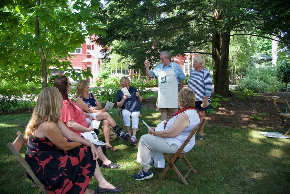 Tours of the Arboretum - history and humor under the trees!