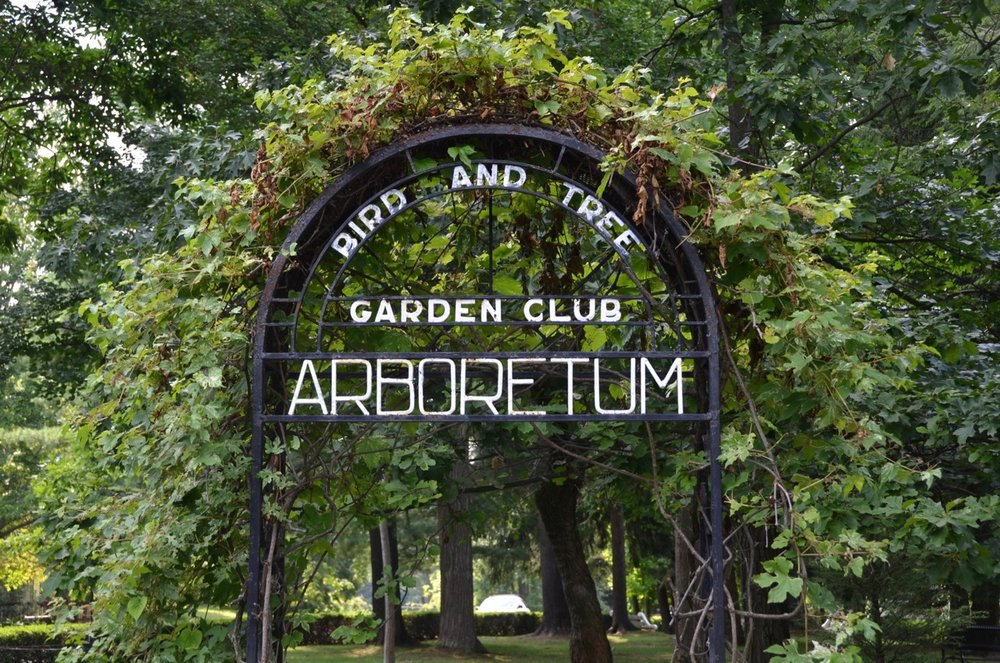 The Arboretum was re-dedicated July 8 after 100 years.