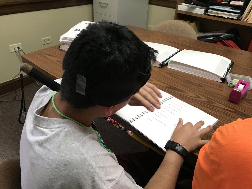 Trae reading new challenge words