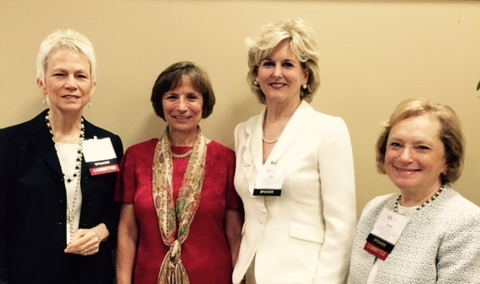 From left to right: Lucy Marion, Sue Hassmiller, Lisa Eichelberger, Janis Dubow