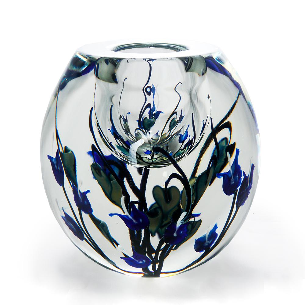 Lotton Dancing Leaves Bowl w Blue Bleeding Hearts 1 - 7.5x7 shadow.jpg