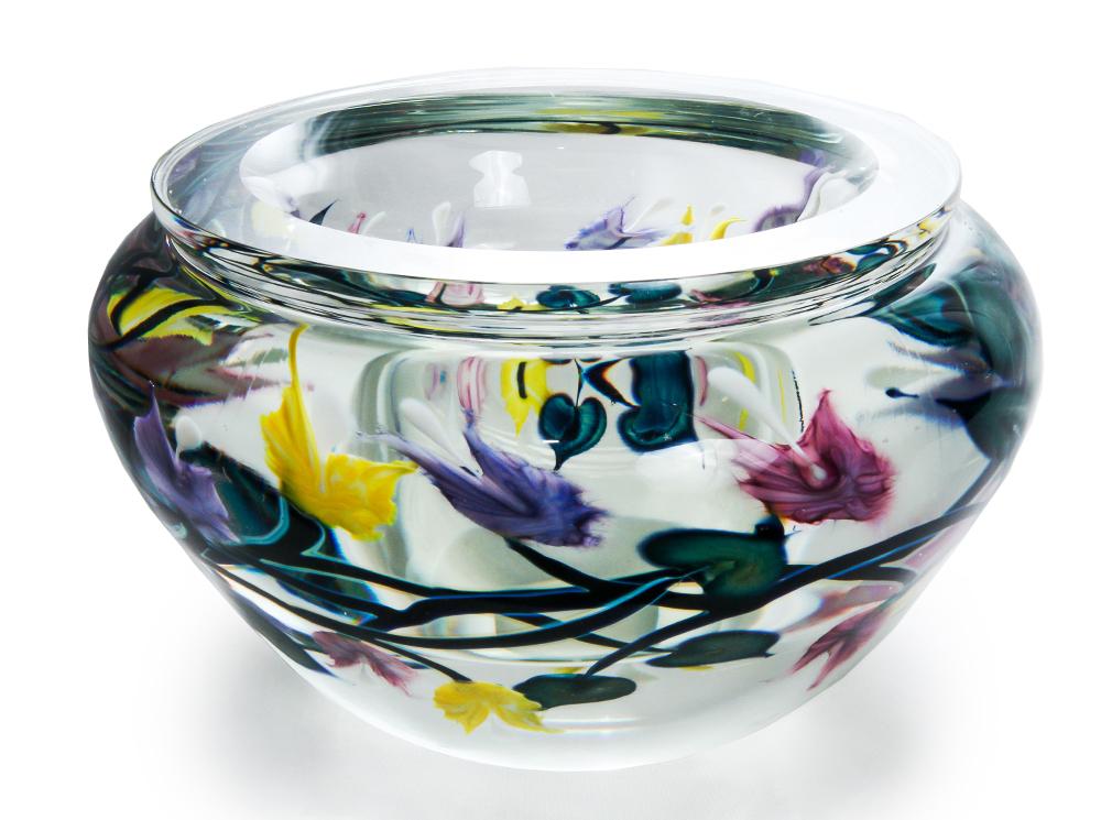 Lotton Off The Vine Bowl w Multicolor Bleeding Hearts 1 - 6x10 shadow.jpg