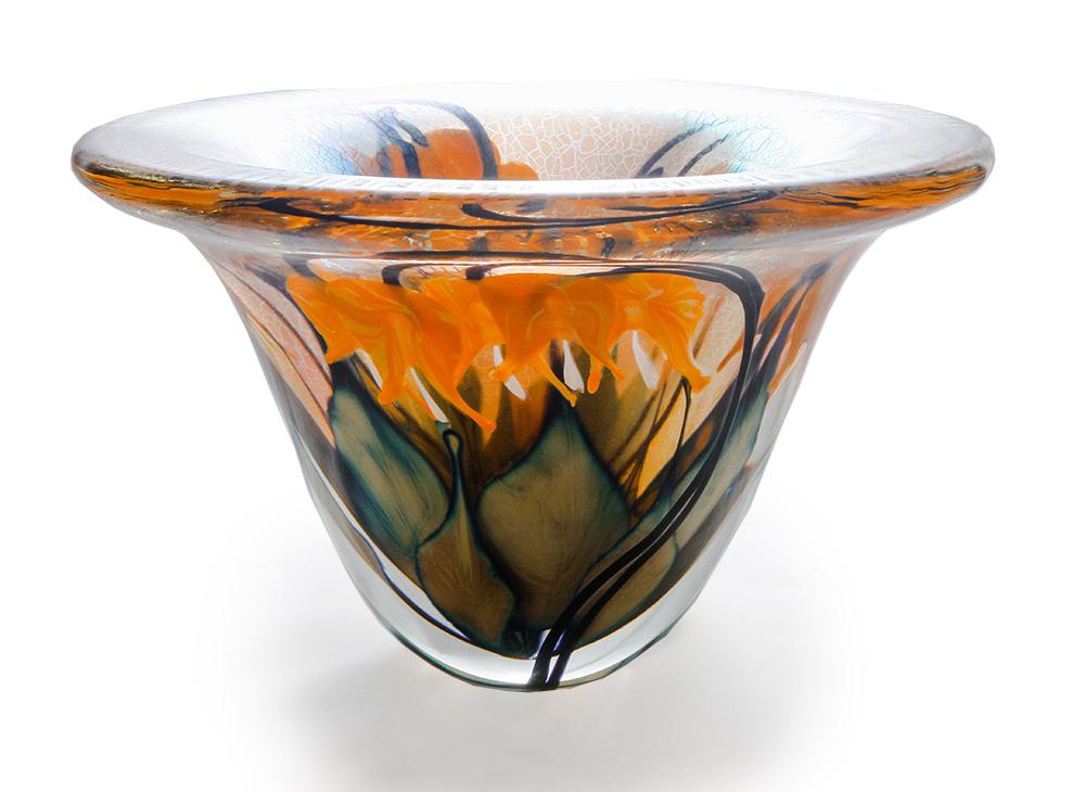 Lotton Sunset Vase w Mango Bleeding Hearts Dimensions Bleeding Hearts  1 - 8.25x12 shadow.jpg