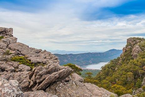 Views of Lake Bellfield