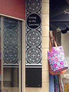 Find some treasures in Living in the Laneway.