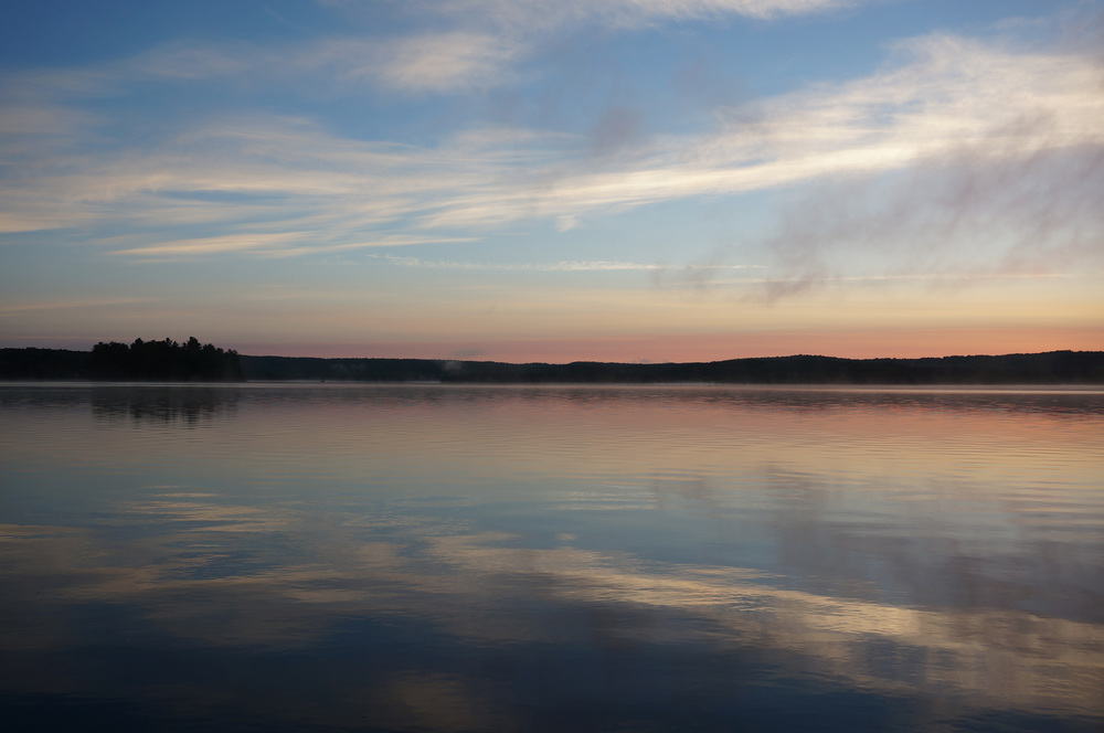 Sunrise on Penn Lake