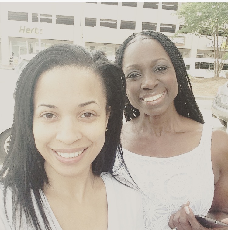 Karrine and Deneen on the road in New Orleans in July 2015