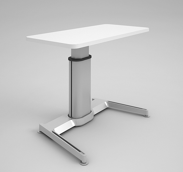 Airtouch Adjustable Height Desk by Steelcase