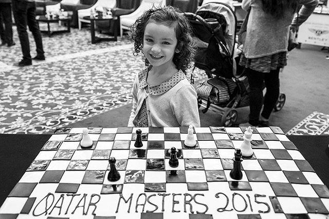 Chess cake for everybody!  Photo: @davidllada #qatar_masters