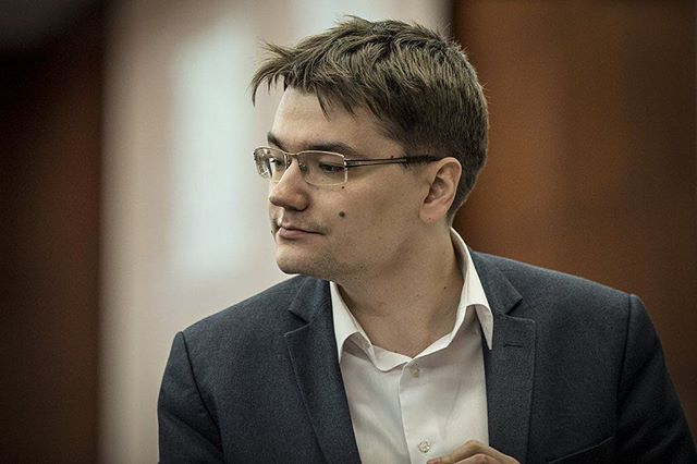 Tomashevsky (2744) finished on a discreet 43rd place. That gives you an idea of the strength of the tournament.  Photo: @davidllada