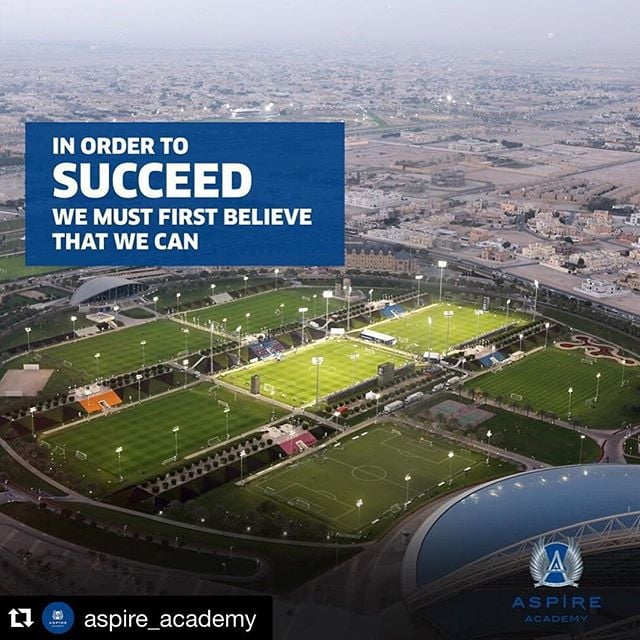 #Repost @aspire_academy with @repostapp. ・・・ Can you? #AspireAcademy #Sports #Quoteoftheday هل أنت قادر على فعل ذلك؟ #أكاديمية_أسباير #رياضة #مقولة_اليوم