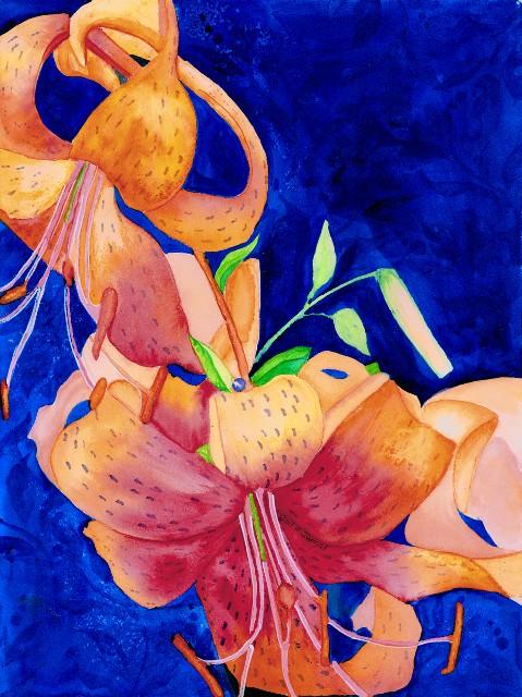 Flowersonblue