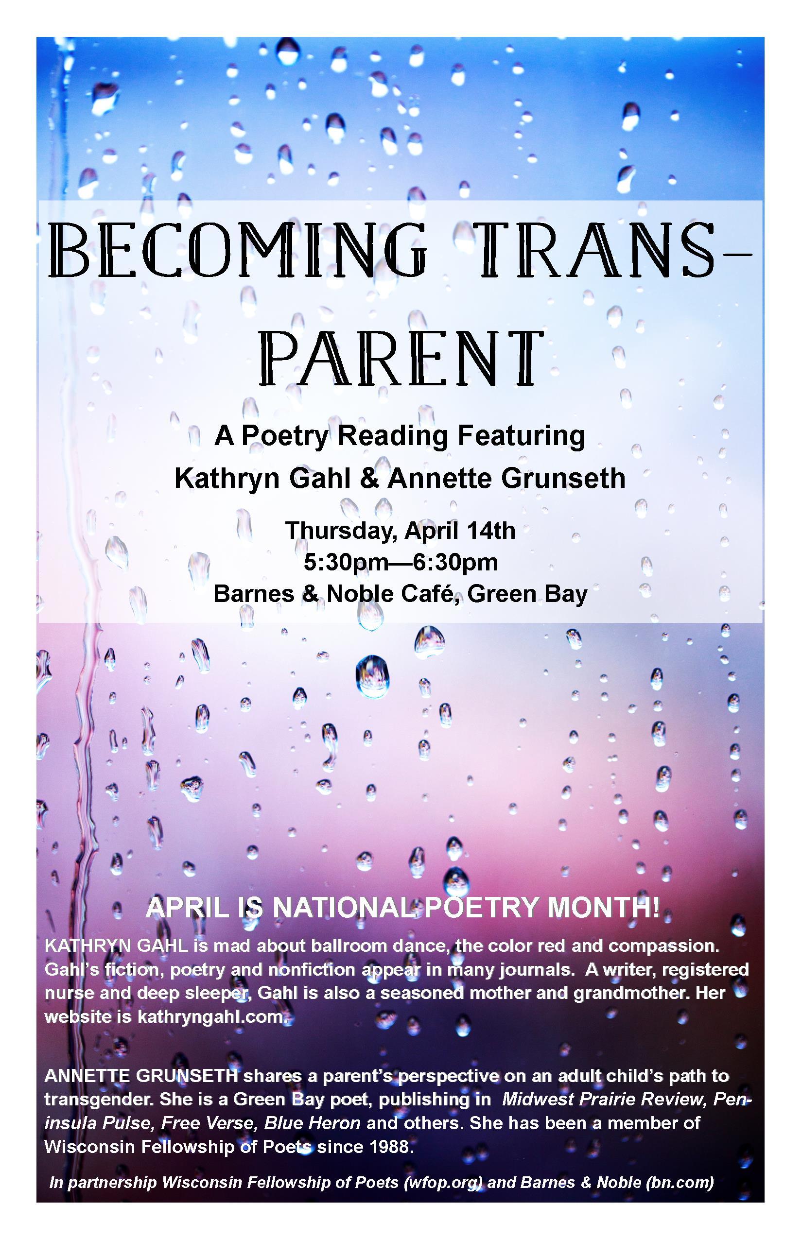 Becoming Transparent