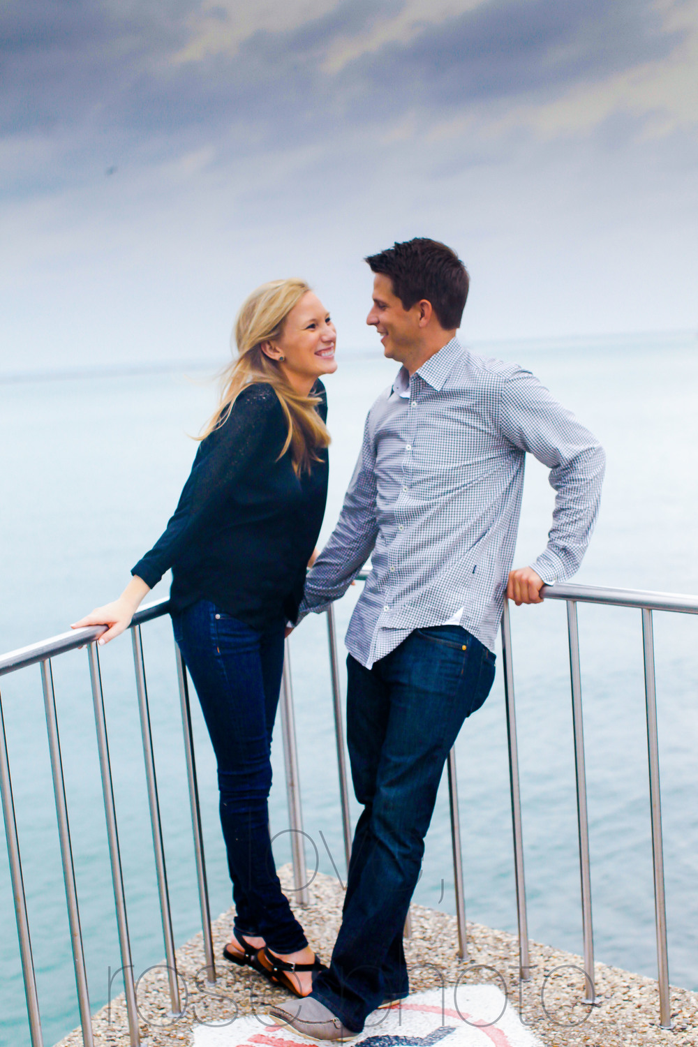 chicago yacht club lake front engagement shoot olive park chicago theater wedding photographer rose photo-008.jpg