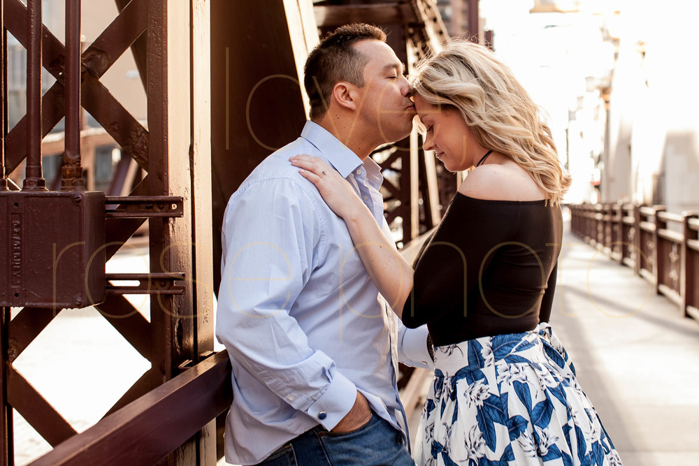 Frank + Lynsey Rose Photo custom engagment shoot RM Champagne Lyric Opera Chicago best wedding photographer downtown river walk-11.jpg