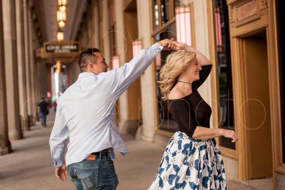 Frank + Lynsey Rose Photo custom engagment shoot RM Champagne Lyric Opera Chicago best wedding photographer downtown river walk-12.jpg