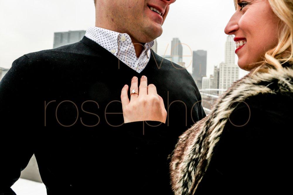 Rose Photo custom engagment shoot downtown chicago best wedding photographer-1.jpg