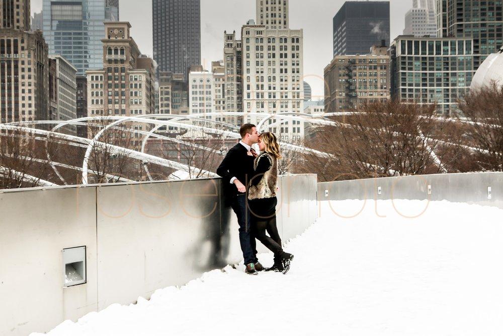 Rose Photo custom engagment shoot downtown chicago best wedding photographer-5.jpg