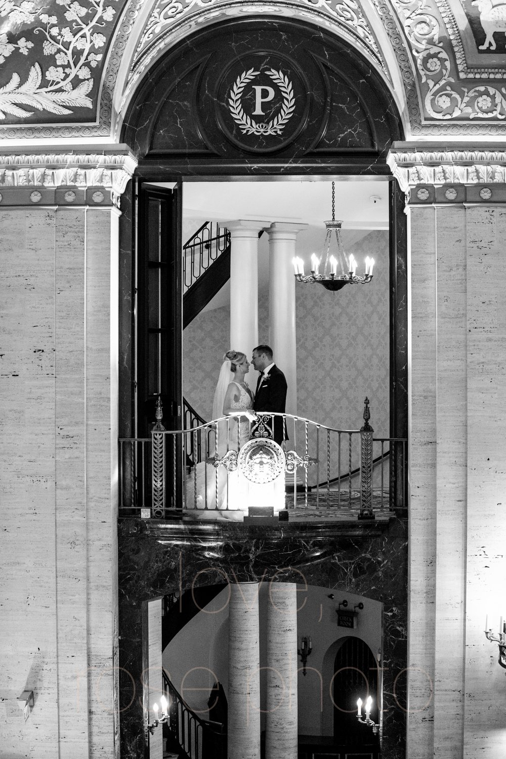 downtown spring wedding palmer house jewish galleria marchetii lazara gown by Rose Photo -13.jpg