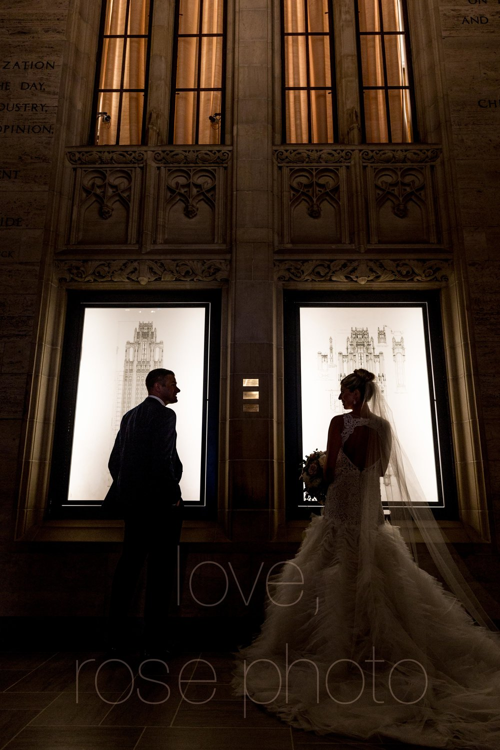 downtown spring wedding palmer house jewish galleria marchetii lazara gown by Rose Photo -16.jpg