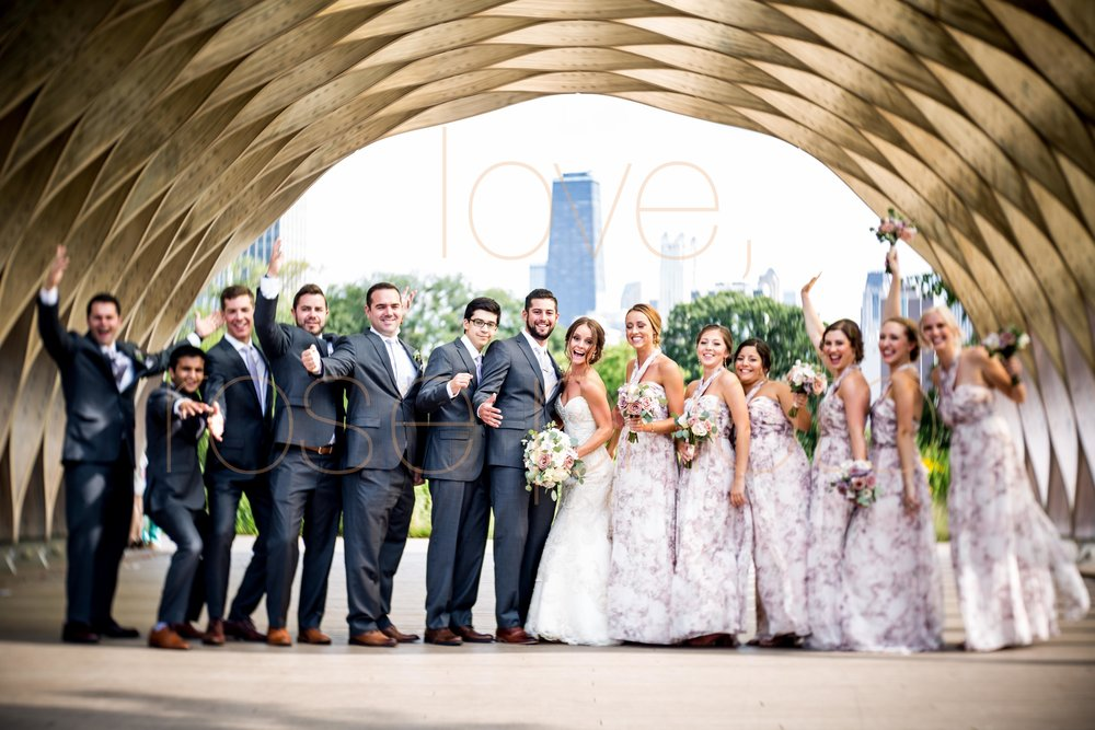 Justine + Matt big day downtown Chicago River Roast wedding by Rose Photo-24.jpg