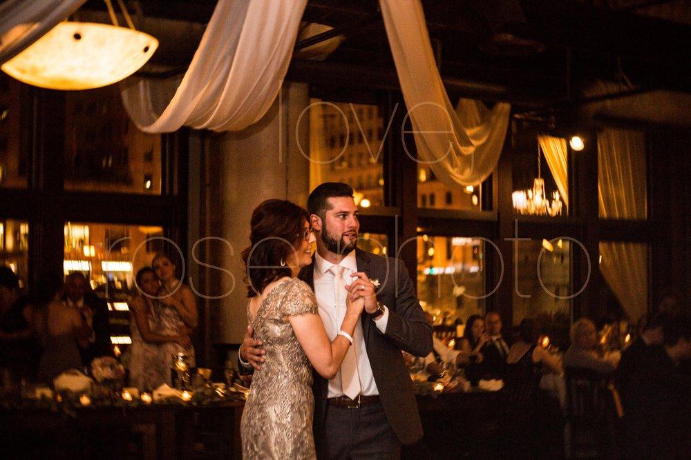 Justine + Matt big day downtown Chicago River Roast wedding by Rose Photo-39.jpg