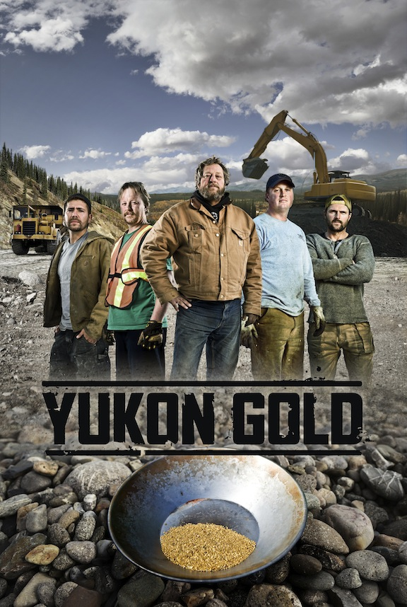 Yukon Gold - History Channel (with Andrew Topham)