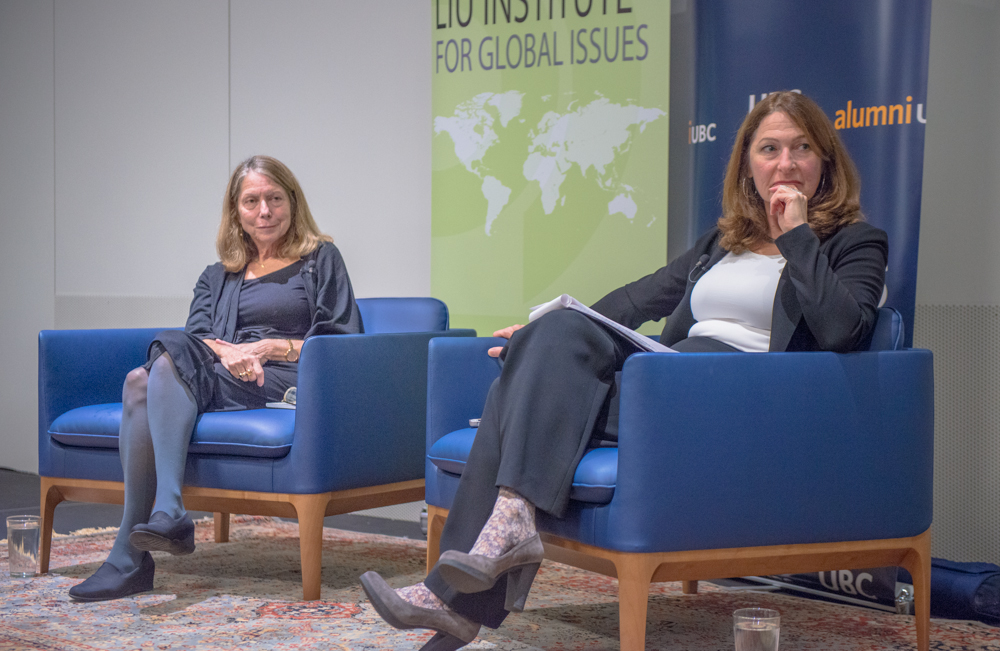 Anna Marie Tremonti & Jill Abramson (NYT)