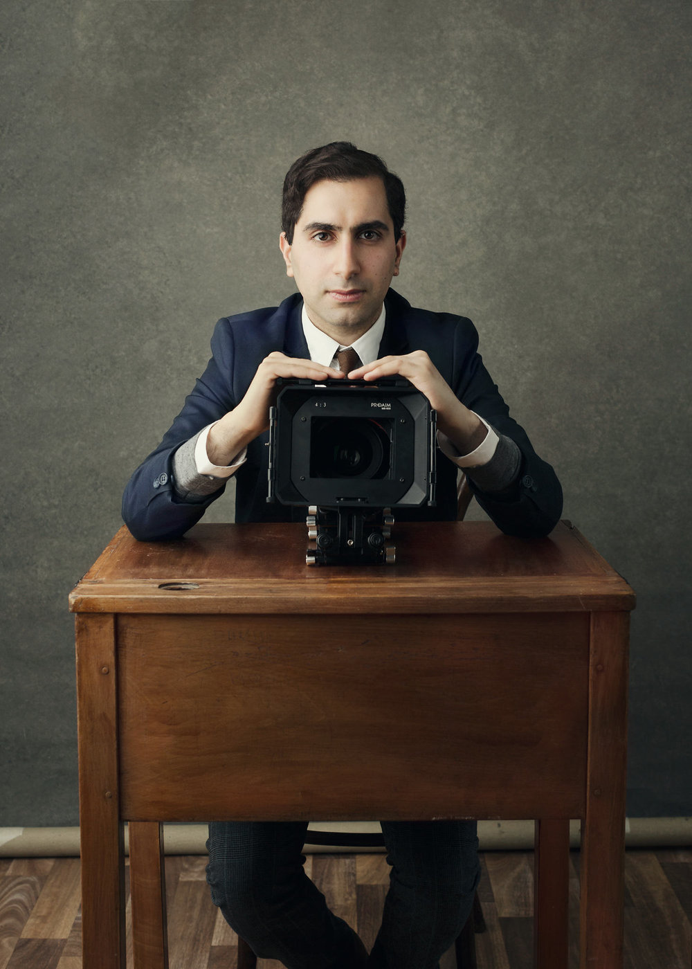 Headshot editorial photography for Shaz Fard