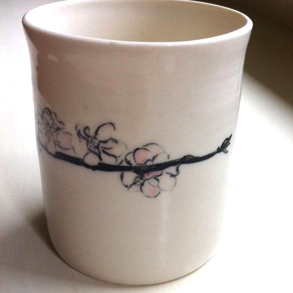 plum blossom tumbler