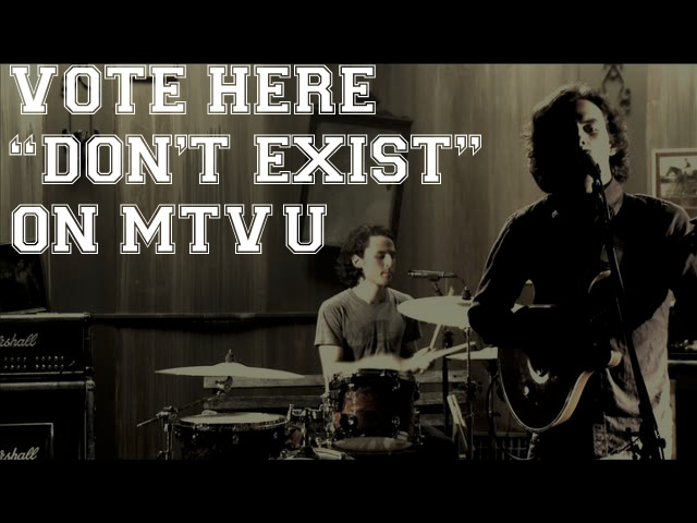 "PMTODAY'S  Music Video for ""Don't Exist"" is up for voting on mtvU's  The Freshman . We are in a close calling with Fight Fair as of now, lets keep up the voting and make it a landslide victory.   VOTE HERE"