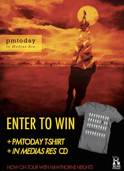 "T  here is still time to win a free copy of  PMTODAY'S  ""In Medias Res"" and free t-shirt."