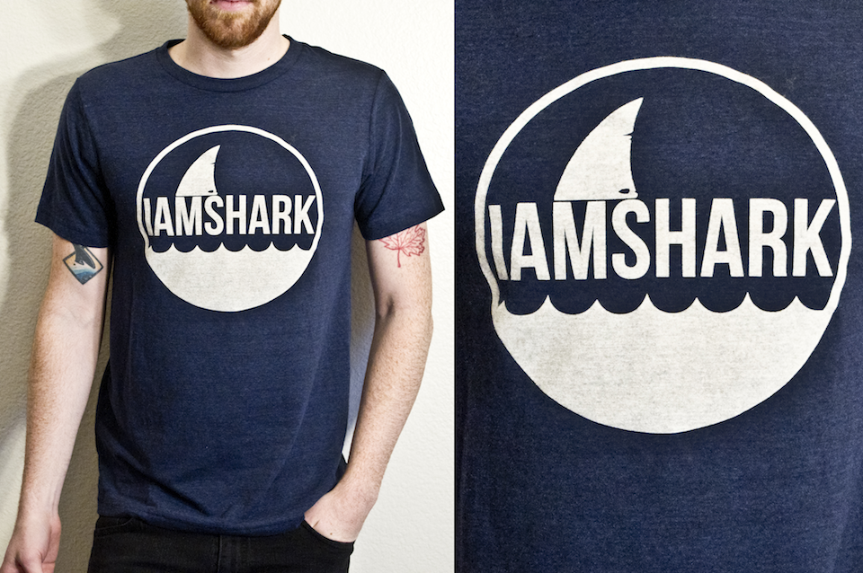 And the IAS shirts are finally up and available in the web store. Just wore mine and they are so comfortable.  http://iamshark.limitedpressing.com/products/15455