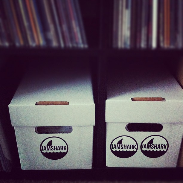 "New 7"" boxes #onestokednerd (Taken with instagram)"