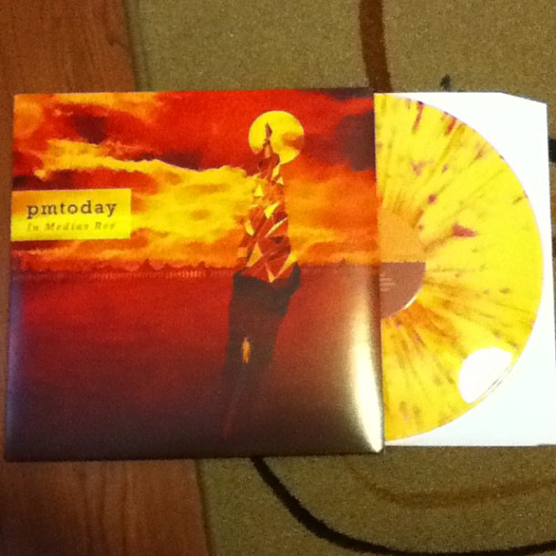 zulk :     PMToday - In Medias Res LP (Yellow/Orange/Red Splatter /500) #pmtoday #iamshark