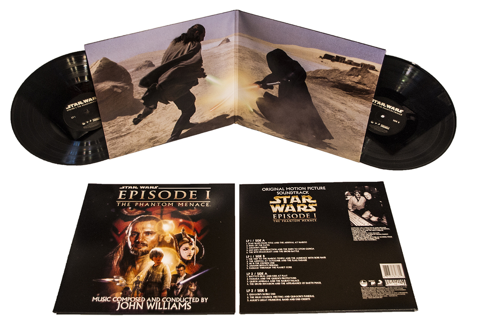 Star Wars Episode 1 - The Phantom Menace OST 2xLP Vinyl
