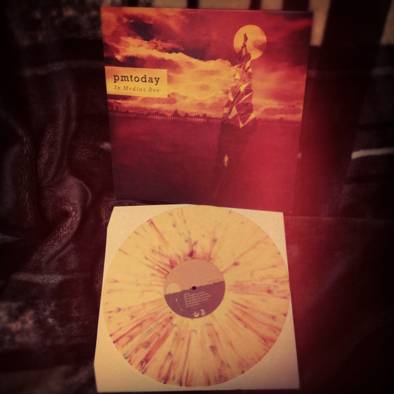 iamconstant :     Got my hands on this beaut thanks to my good friend Spencer! Apparently there were only 500 of these yellow/red splatter vinyls pressed! So cool! How many exclamations can I make?!