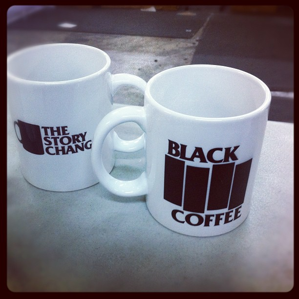 Freshly made TSC mugs.  Beautiful! #thestorychanges (Taken with  Instagram )