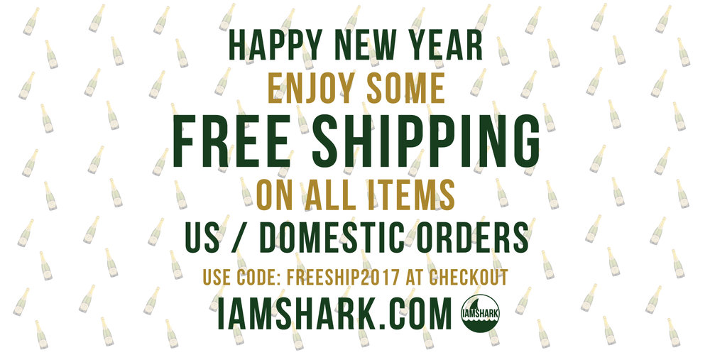 FREE SHIPPING FOR 2017