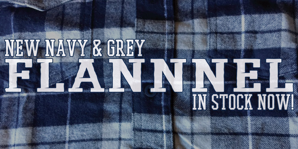 Sink Or Swim Flannel (Navy/Grey)