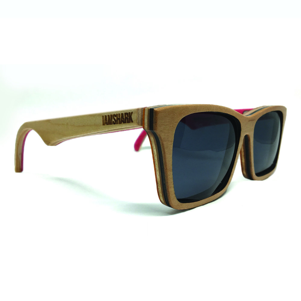Acers - Natural Wood Sunglasses