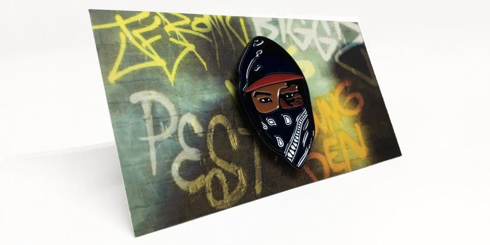 Attack The Block - Moses Pin