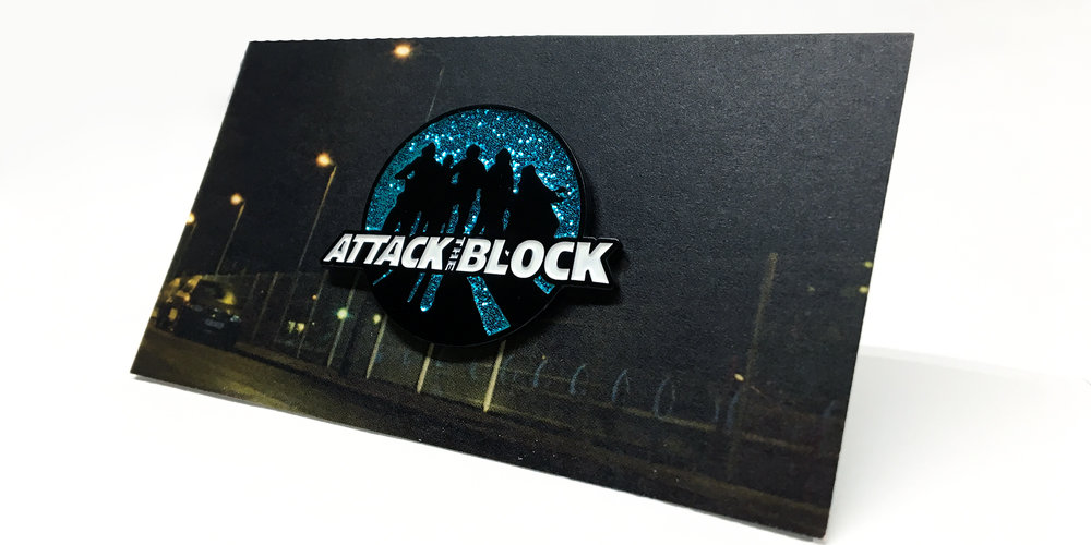 Attack The Block - Silouhette Pin