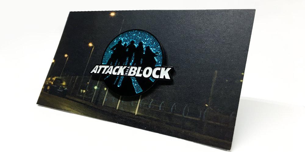 Attack The Block - Silouhette Pin