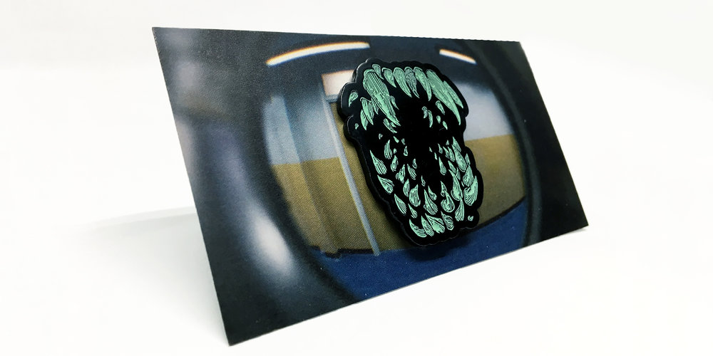Attack The Block - Teeth Pin