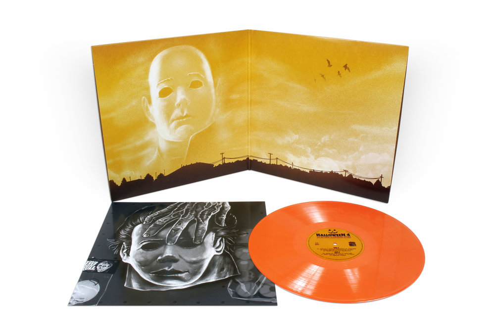 Halloween 4: The Return of Michael Myers (Original Motion Picture Soundtrack) on Orange Vinyl