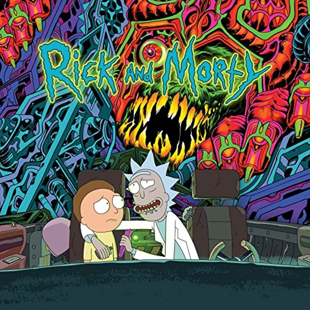 Rick & Morty (Original Series Soundtrack) 2xLP